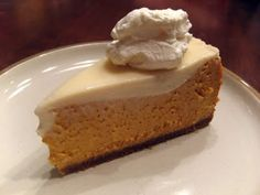 Fire and Salt: Gluten Free Pumpkin Cheesecake