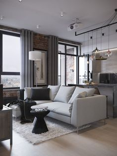 Ideas for house decorations living room loft Home Interior Design, House Design, Living Room Loft, Interior Design, House Interior, Home, Apartment Design, Living Room Designs, Living Room Decor Cozy