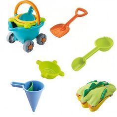 Haba - Sand and Water Play Bundle and Save! My children spend hours in the sandpit, new sand toys are always welcome, and these look awesome. Sand And Water, Water Play, Sand Toys, Sand Pit, Christmas Catalogs, Toys Shop, Book Gifts, Outdoor Play, Cousins