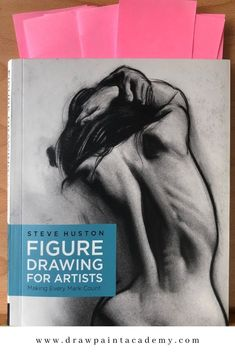 I recently finished Steve Huston's Figure Drawing for Artists. A recommended read, if only to see Huston's beautiful drawings. Huston is one of those artists who is not only talented with brush and pencil but also inspirational in his passion and philosophy on art and life. #drawpaintacademy.com