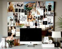 "FASHION IN DECOR My Office on ""Home on the Runway"" 