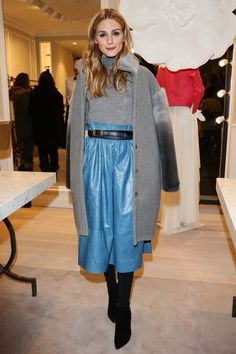 Olivia Palermo Photos Photos - Olivia Palermo attends Blumarine Store Opening Cocktail as part of Paris Fashion Week Womenswear Fall/Winter on March 2016 in Paris, France. Olivia Palermo Outfit, Olivia Palermo Stil, Olivia Palermo Lookbook, Star Fashion, Paris Fashion, Winter Fashion, Fashion Fashion, Fashion Tips, Rocker
