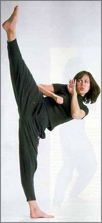 Shannon Lee - daughter of iconic martial artist/film star, Bruce Lee!
