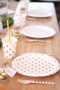 Pink Gold Party, Pink And Gold, Gold Paper, Easter Table, Paper Plates, Party Supplies, Cups, Range, Decorations