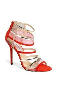 Jimmy Choo Mai Tai Sandal in Red (Flame)