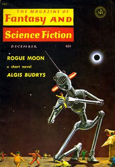 "The December 1960 Cover of ""Fantasy and Science Fiction"" 
