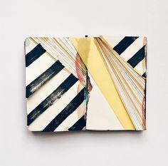 Eva Magill Oliver sketchbook, brwnpaperbag.com