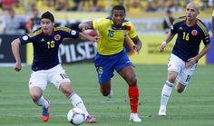 Colombia vs Ecuador 2016 Eliminatorias Mundial 2018