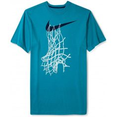 Nike Shirt, Short-Sleeve Graphic Basketball Net T-Shirt - T-Shirts - Men… Basketball Uniforms, Nike Basketball, Basketball Shooting, Basketball Outfits, Basketball Equipment, Basketball Court, Nike Outfits, Sport Outfits, Great T Shirts