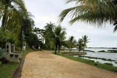 Gardens of South Lake (Pontao do Lago Sul), Brasilia.