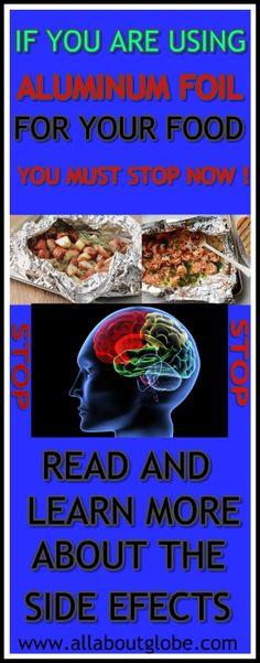 STOP USING ALUMINUM FOIL ! #FoodPoison #AluminumFoil #Health #Disease