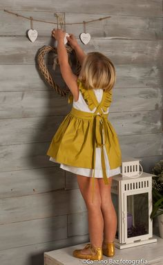 67 Trendy Ideas For Moda Infantil Verano 2019 Sewing For Kids, Baby Sewing, Baby Girl Fashion, Kids Fashion, Little Girl Dresses, Girls Dresses, Kids Wear, Baby Dress, Ruffle Dress