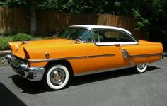 Learn more about 1955 Mercury Montclair Two-Door Hardtop on Bring a Trailer, the home of the best vintage and classic cars online. American Classic Cars, Old Classic Cars, Classic Cars Online, Ford Motor Company, Rat Rods, Vintage Cars, Antique Cars, Ford Mustang, Mustang Cars