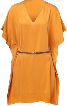ShopStyle: Piazza Sempione Curry Belted Dress