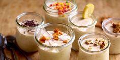 Mousse aux bananes Gluten Free Treats, 20 Min, Light Recipes, Sans Gluten, High Tea, Afternoon Tea, Panna Cotta, Om, Baking