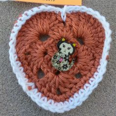 Found outside of the Montoya State building in a newspaper stand. This is the 2nd heart that I have found. #ifaqh #ifoundaquiltedheart