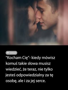 Jeśli się kogoś kocha, to jest się z nim zawsze, a nie tylko wtedy, kiedy . Love Quotes, Funny Quotes, Inspirational Quotes, Love Words, Beautiful Words, Motto, Couple Goals, Life Lessons, Quotations