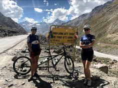 Courageous local duo conquer the Himalayas - Speaker and fellow mastermind member, Liezel vd Westhuizen, cycled in an amazing adventure with a blind colleague to raise funds for charity.