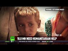 Millions displaced by humanitarian catastrophe in Yemen, more than 80% relying on aid– #RTNewsVideo https://youtu.be/ZaECar7yYDI