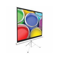 Pyle Universal 100 Inch Floor Standing Portable Fold Out Roll Up Tripod Manual Projector Screen x Matte White Surface Home Theater Projection Screens Electronics Portable Projector Screen, Home Cinema Projector, Home Theater Projectors, Projector Stand, Ceiling Projector, Home Theater Setup, Home Theater Seating, Screen House, Projection Screen