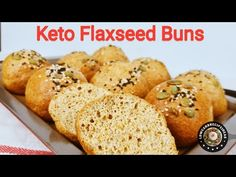 HOW TO MAKE KETO FLAXSEED BUNS - LIGHT, SOFT, FLUFFY & TASTE GOOD ! - YouTube