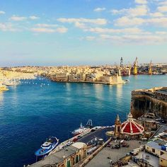 Valletta │ Come to Malta and discover our culture. There is no better place to learn English: http://lifeinmalta.com/ #malta #landscape #lifeinmalta