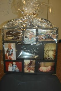 "FAMILY PORTRAIT SITTING Sold for $78 by Kacy Hughes Photography Includes ""Family"" frame collage and  a 30 minute long photo session and includes a photo disc of 20 edited images"