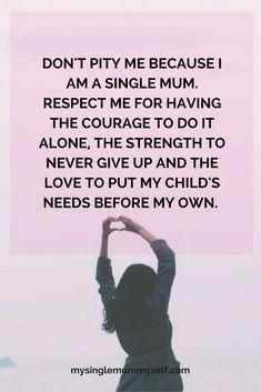 I am a single mom who needs help
