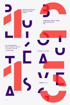 type-lover:  Publicité sauvagebyEmanuel Cohen