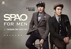 Kyu and Won for SPAO, korea, korean fashion, kfashion, men's wear, men's fashion, asian fashion, asia