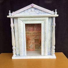 Shrine Temple Style Nicho Altar Cottage Chic Home Decor by DianaLaMorrisArt on Etsy