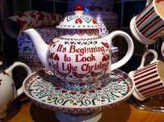 Joy Personalised Four Cup Teapot dated 2012. This is lovely