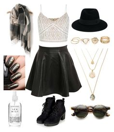 """Untitled #407"" by alices-tea-party on Polyvore featuring Pilot, Topshop and Maison Michel"
