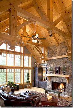 Photo Album Timber Frame Home Environmentally Designed Timber Frame Eco…