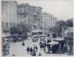 New York City (Broadway) during the Civil War. Biddy Craft
