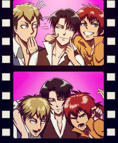 Shingeki no Regret ~ Farlan, Levi & Isabel || Shingeki no Kyojin // Attack on Titan┋Атака Титанов┋Attack on Titan