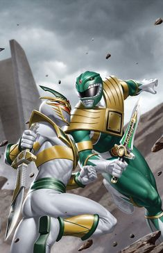 Comic Books Art, Comic Art, Mighty Morphin Power Rangers, Iron Man, Fan Art, Superhero, Comics, Artwork, Studios