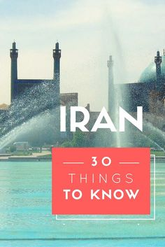 What can you expect from your trip to Iran?