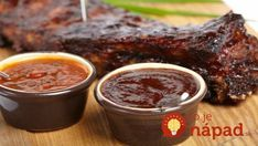 Don't settle for bottled sauce! Learn how to make barbecue sauce to wow your friends with just a few extra ingredients. Receta Salsa Bbq, Salsa Barbacoa Casera, Homemade Bbq Sauce Recipe, Sauce Recipes, Cooking Recipes, Yummy Recipes, How To Make Barbecue, Russian Recipes, Chutneys