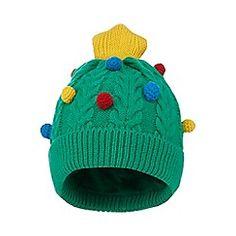 bluezoo - Boys  green Christmas tree beanie hat Christmas Tree Design f3f389f80b4c