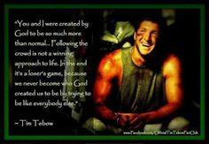 ~ Tim Tebow