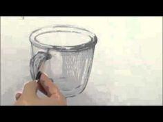 에이스타 정물소묘 유리컵 - YouTube