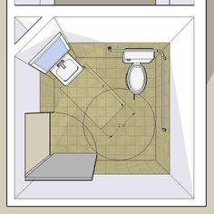 """Ada Bathroom Door Swing Out plan-2c pair: 2010 standards with in-swinging doors two 7'-2"""" x 6"""