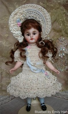 """""""Bluebell"""" with crochet costume by Tina Porn"""