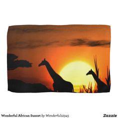Wonderful African Sunset