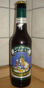 Ayinger Weizenbock  Excellent!!!!!!