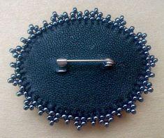 МК. Крепим основы для брошей и колец | biser.info - всё о бисере и бисерном творчестве