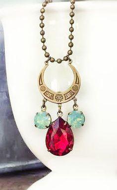 Gatsby Style Necklace