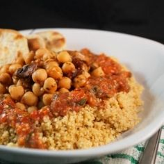 Chili Chickpea Couscous