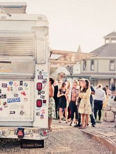 Do the Math - Plan on at least one food truck for about every 75 guests. Any fewer and you may have a lot of hungry people waiting around!